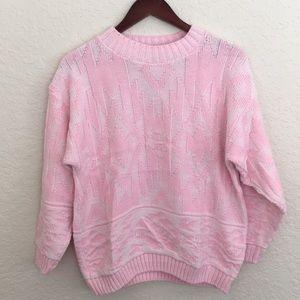 [Vintage] Pink Oversized Sweater